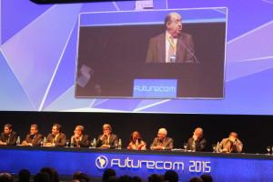 Momentos de la apertura Futurecom 2015