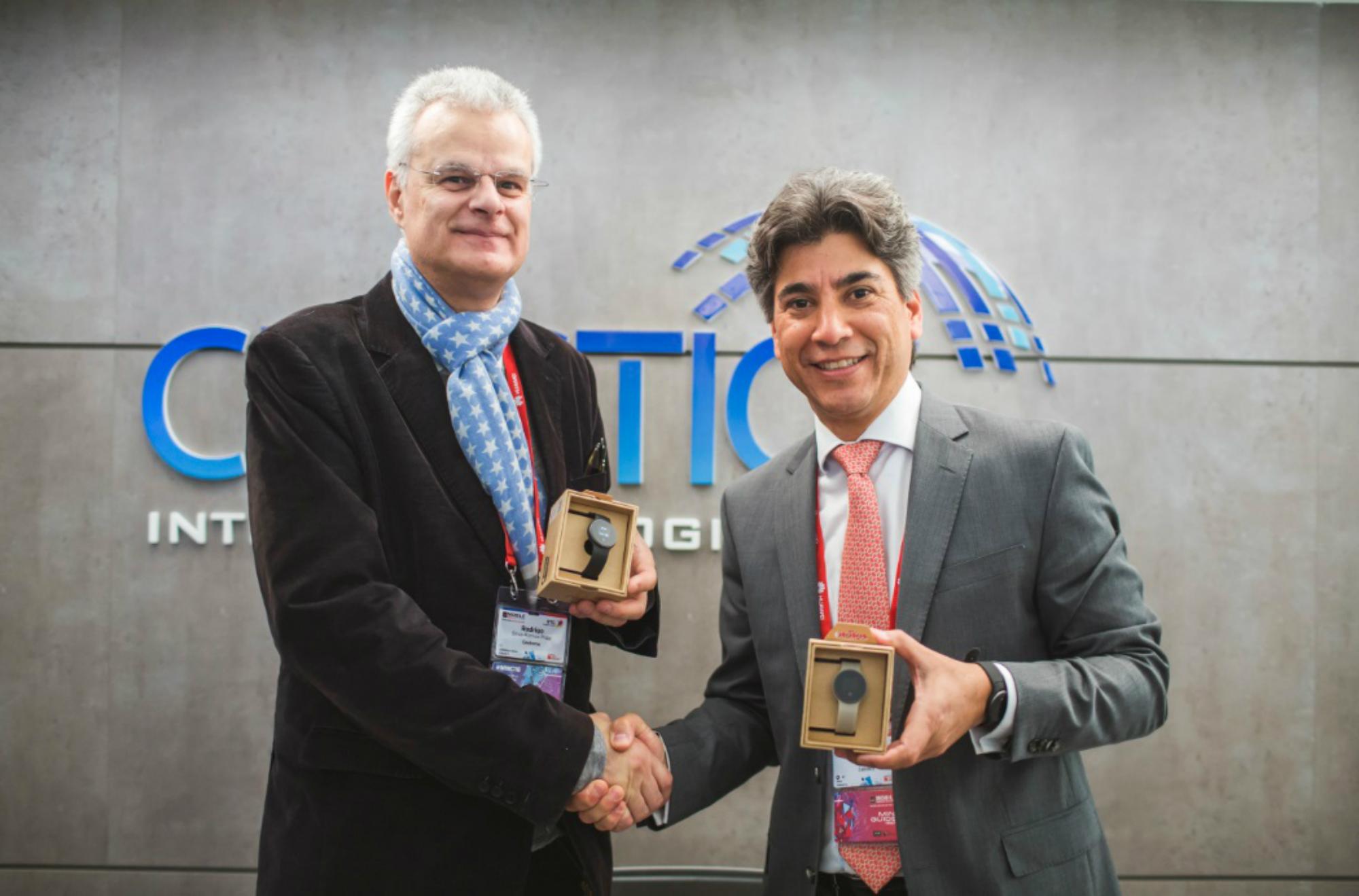 CELISTICS Rodrigo Silva Ramos_Chairman Geeksme junto a Antonio Belfort_Director General CELISTICS_alta