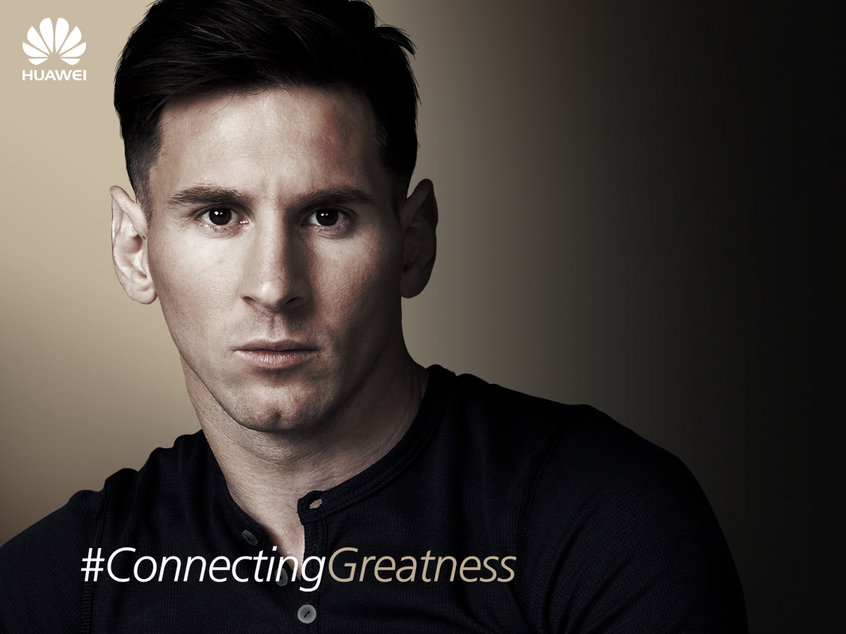 Lionel Messi embajador global de Huawei