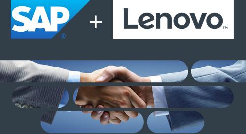 Lenovo y SAP: una alianza que se fortalece
