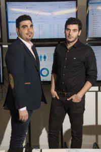 Damian Rizzuti, Director Regional y Damian Russo, Director Comercial para Argentina de Xaxis