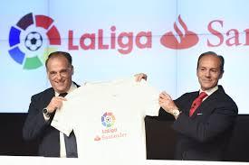 LaLiga y el Banco Santander llegan a un acuerdo de patrocinio por el 'title sponsor' de la competición  Español