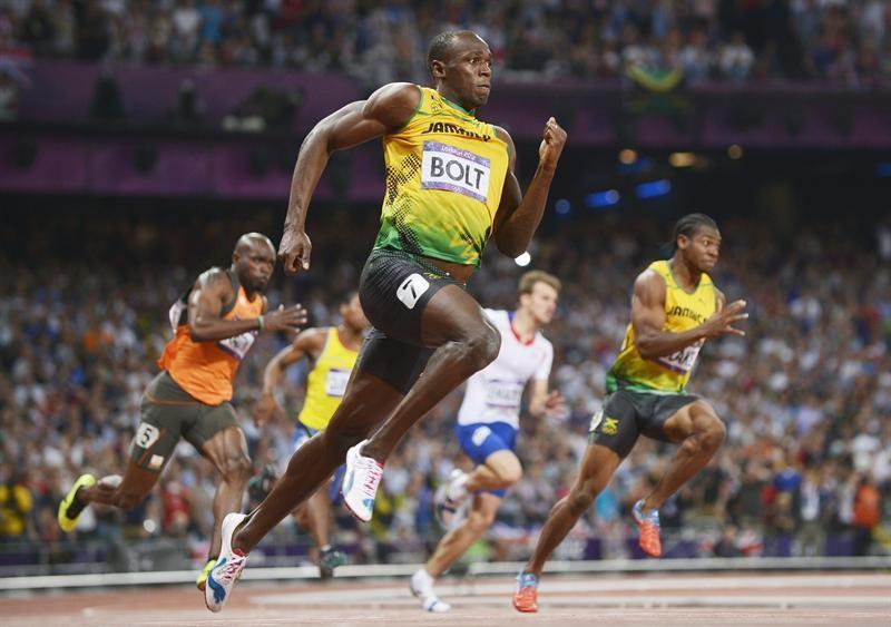 Usain Bolt hace caja