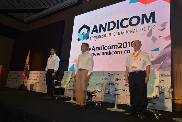 CINTEL, TICS, Telecomunicaciones, Andicom, Andicom 2016, Colombia,