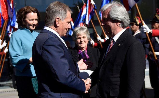 Uruguay y Finlandia proyectan nueva planta de celulosa