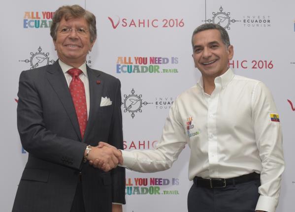 Sahic 2016 en Ecuador despertó el interés de inversionistas de Latinoamérica