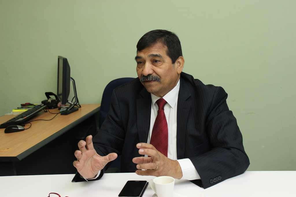 Olmedo Estrada, presidente del Colegio de Economistas de Panamá
