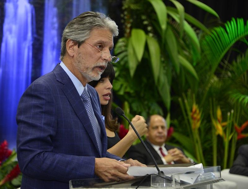 El ministro de Turismo, Mauricio Ventura