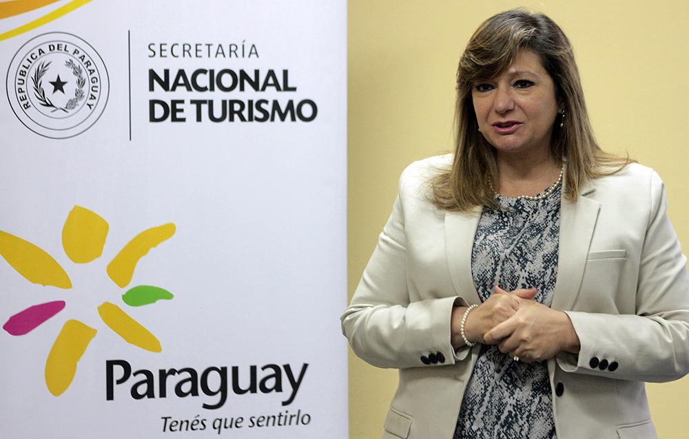 Ministra de Turismo de Paraguay, Marcela Bacigalupo.
