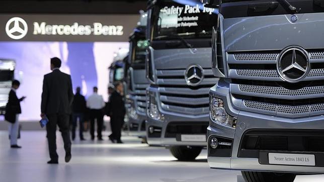 Mercedes Benz repunta lentamente sus ventas en Argentina
