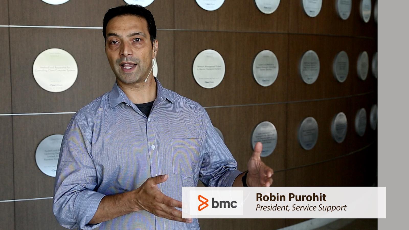 Robin Purohit, presidente del grupo de soluciones empresariales de BMC