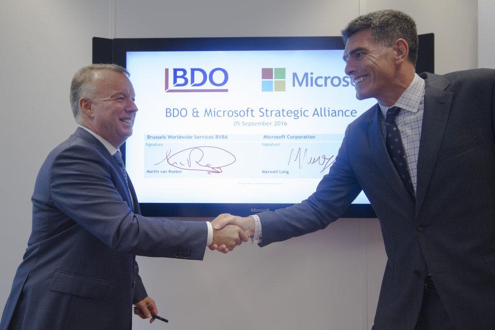 BDO Global y Microsoft