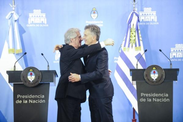 """Argentina y Uruguay: """"La vocación de trabajar juntos"""""""