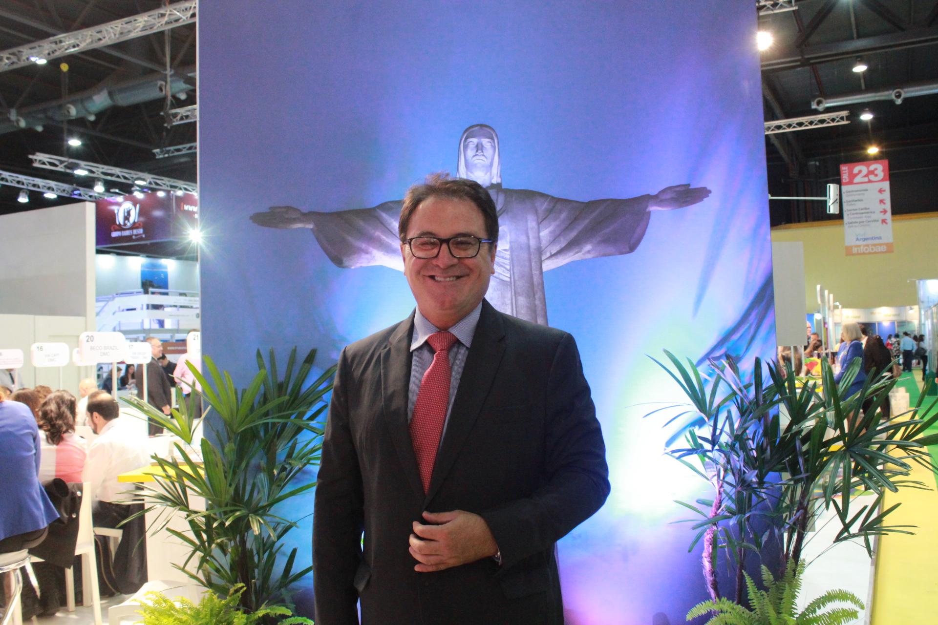 Presidente del Ente Brasileño de Turismo, Vinícius Lummertz