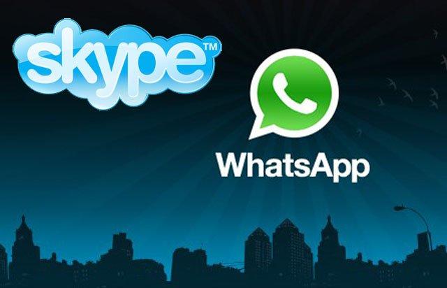 Skype busca competir de igual a igual con WhatsApp