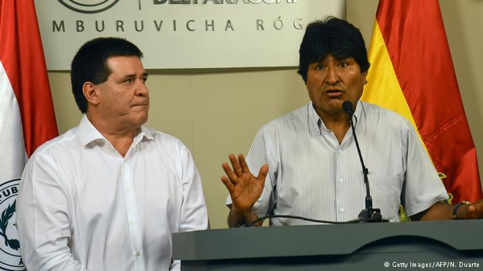 "Evo Morales: Tren bioceánico será ""canal de Panamá del siglo XXI"""