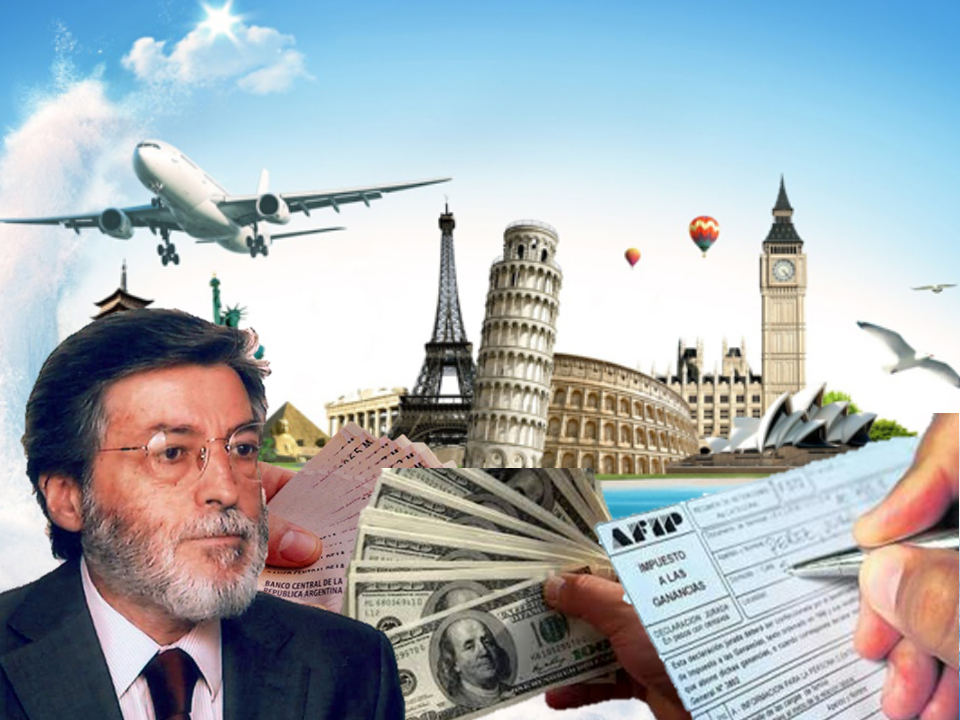 Argentina: El turismo mueve la salida de dólares hacia el exterior
