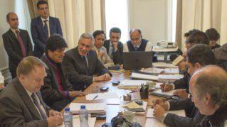 """Evo Morales contra Chile en La Haya: """"Son 138 años de injusticia"""""""