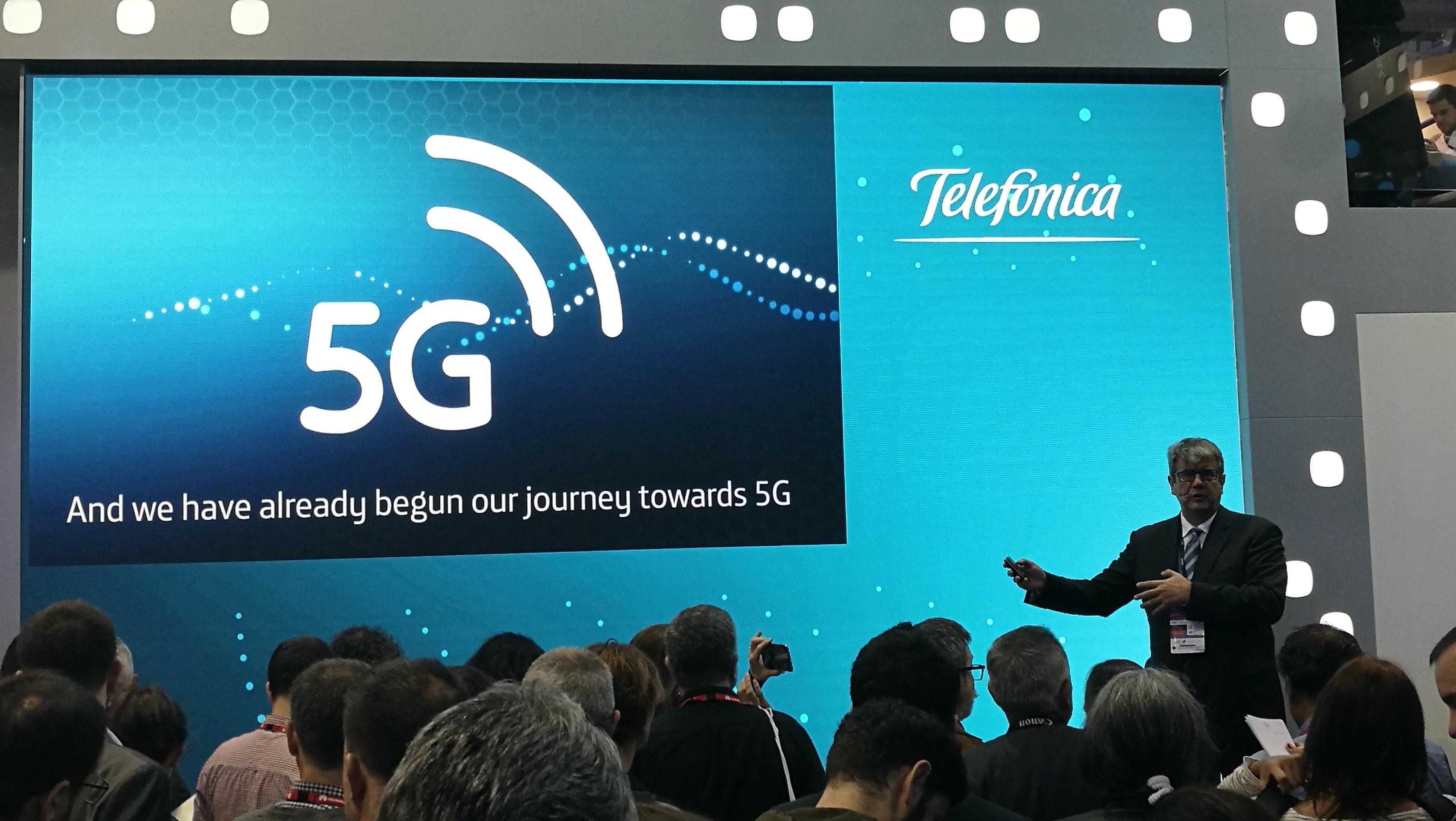 MWC17: Telefónica y Ericsson presentaron el primer experiencia de conducción remota 5G
