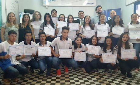"""Samsung y Paraguay Educa: Todo un éxito el Programa """"Tech Institute"""""""