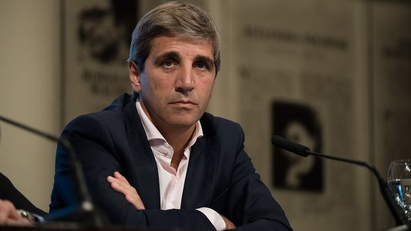 El ministro de Finanzas, Luis Caputo, en calidad de gobernador argentino ante el Banco Mundial.