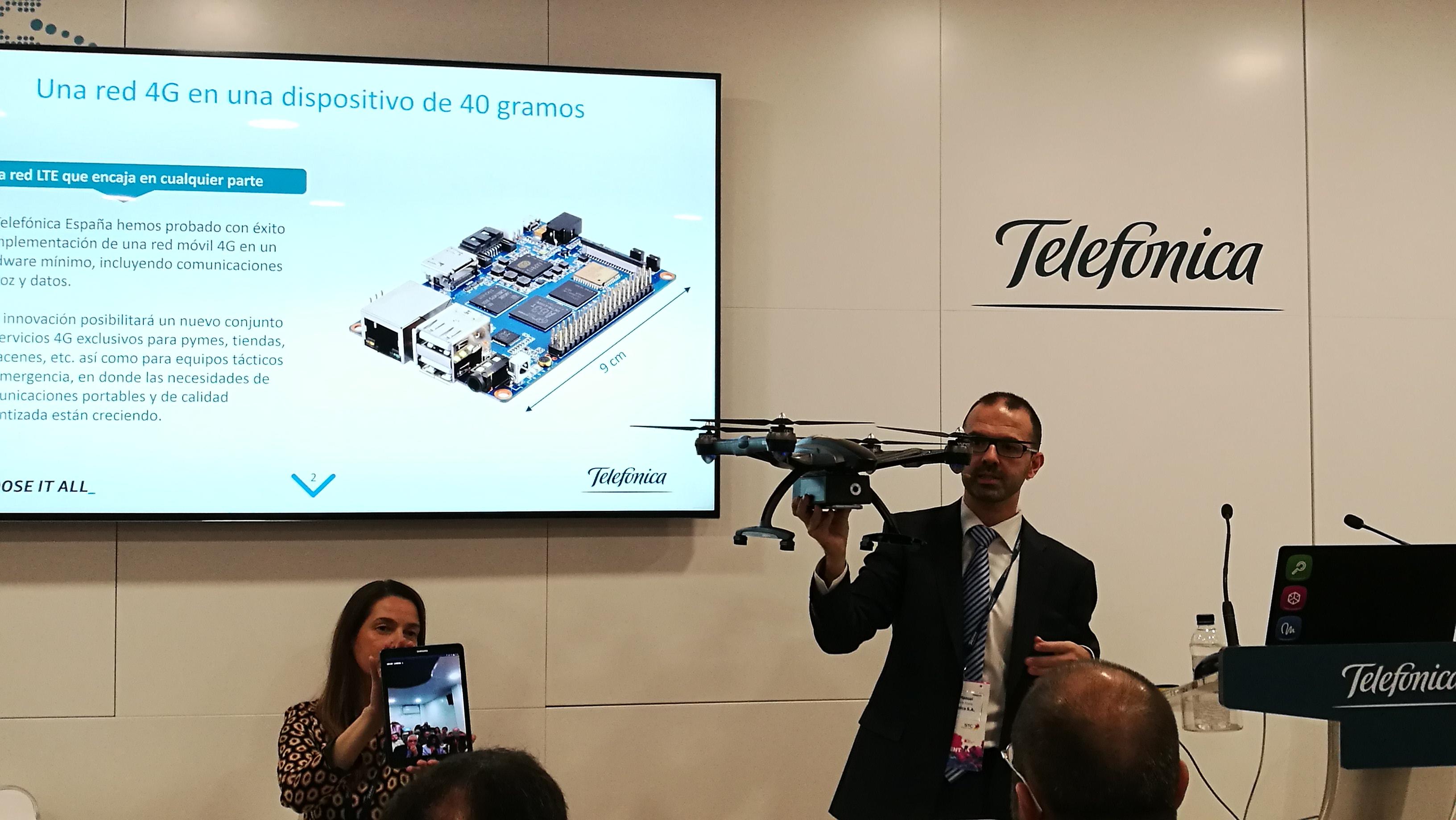 MWC17: Llegó LTE Nano de la mano de Telefónica