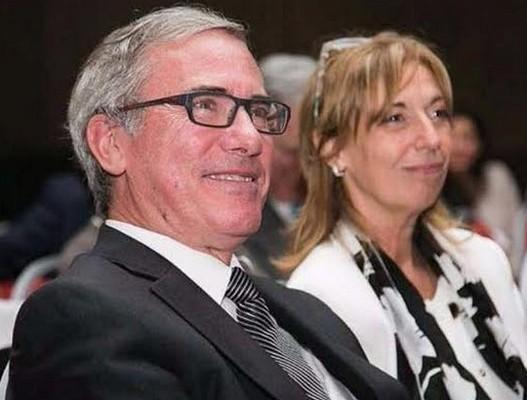 Eduardo Perez Orive (izq) y Olga Lily Motisi (der)
