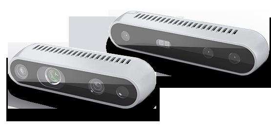 Intel RealSense D415 y D435