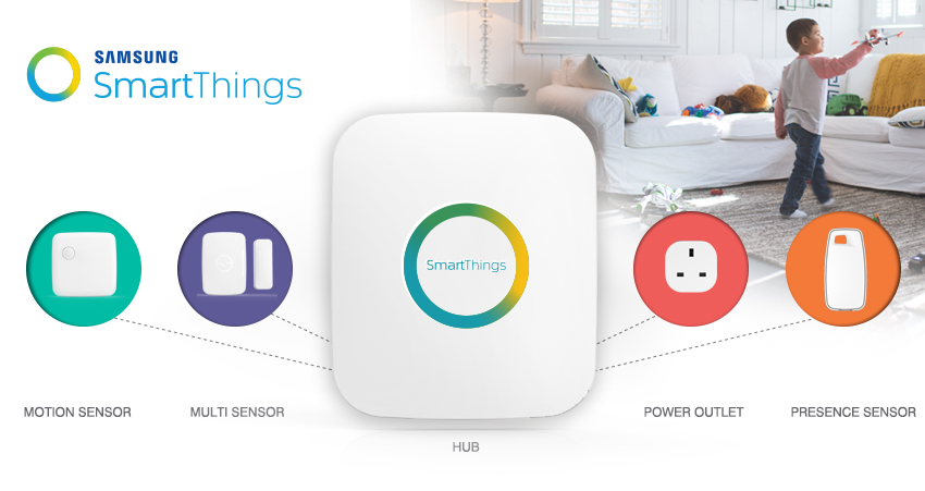 SmartThings por Samsung