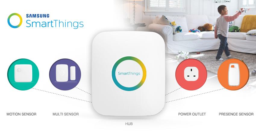 SmartThings por Samsung