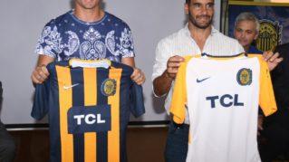 Las nuevas camisetas de Rosario Central por TCL