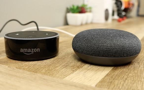 google-home-mini-echo-dot
