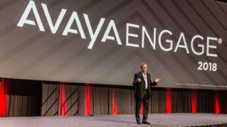 Jim Chirico, CEO de Avaya durante el Avaya Engage 2018