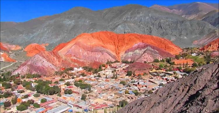 Quebrada de Humauaca, en Jujuy, Argentina