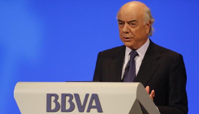 Francisco González presidente de BBVA