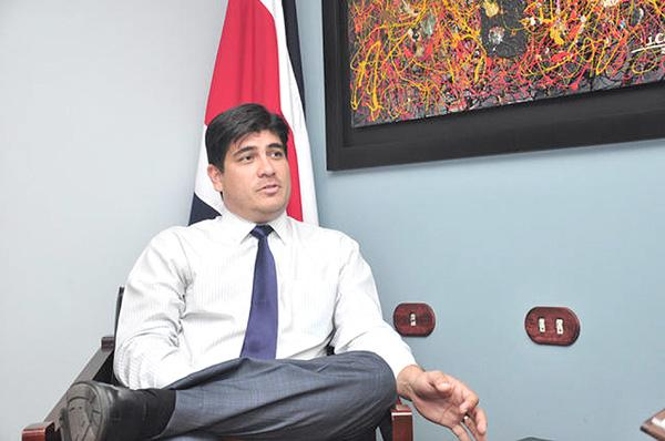 Carlos Alvarado Quesada, Presidente de Costa Rica