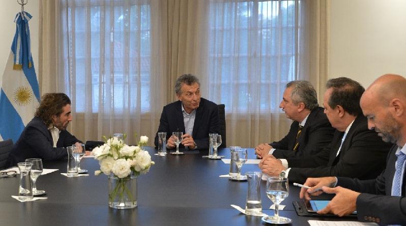 Macri reunido con los directivos de Globalia Air Europa