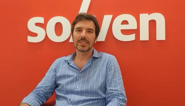 Facundo Turconi, CEO de la empresa Solven