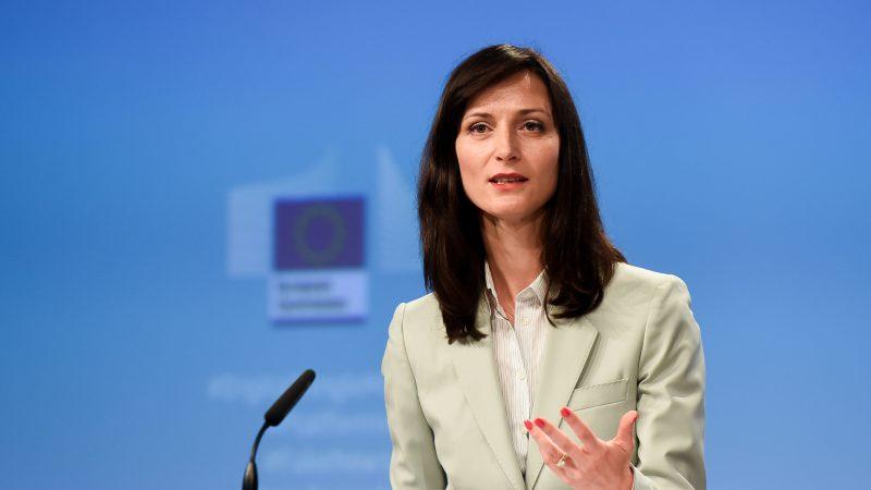Mariya Gabriel, Comisaria Europea